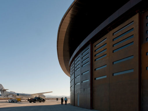 Spaceport America Gateway to Space Terminal Hangar Facility