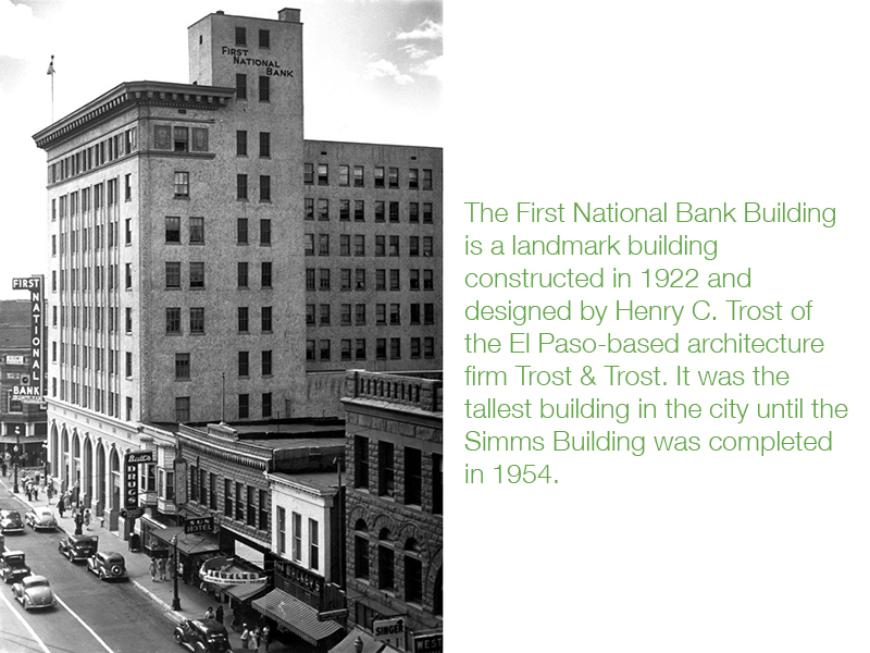The significance of the building is its location, architecture, and commanding historical presence in the downtown. The building was placed on the National Register of Historic Places in 1979.