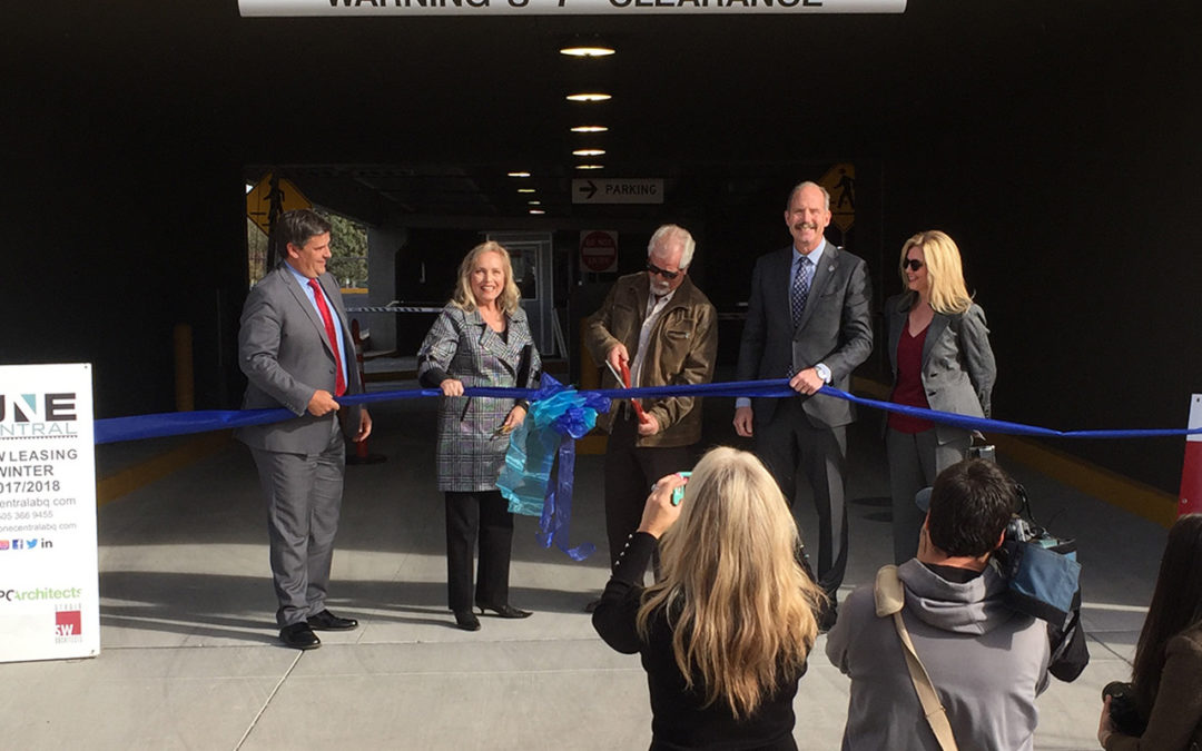 Ribbon Cutting – One Central Parking Structure