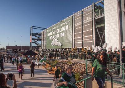Eastern New Mexico University Greyhound Stadium