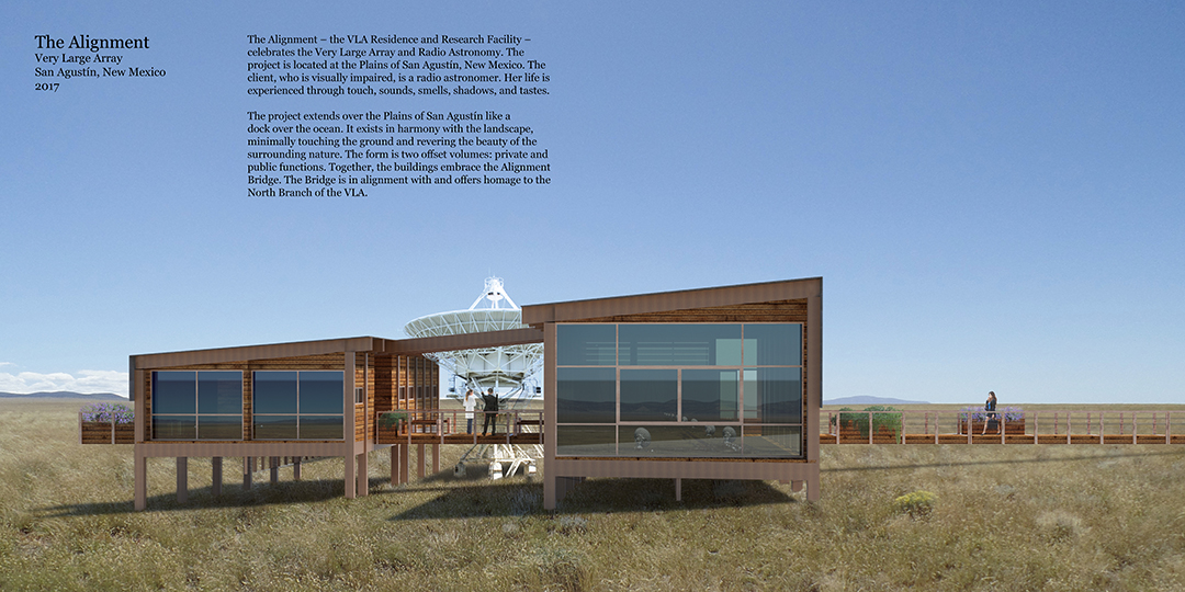 The Alignment, Very Large Array Residence and Research Facility