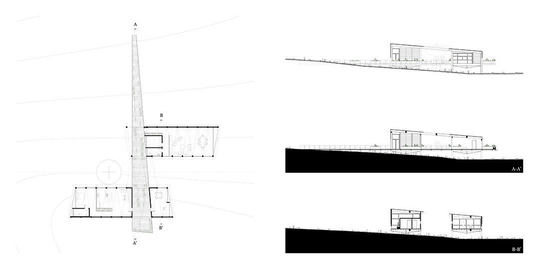 The Alignment, Very Large Array Residence and Research Facility Final Studio Project ARCH 501 Graduate Architectural Design II, Fall 2016, SA•P, UNM