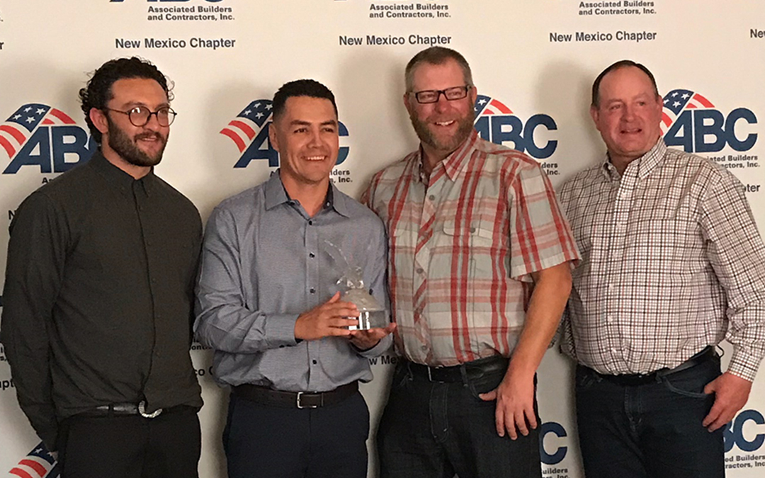 One Central Awarded Associated Builders & Contractors Eagle Award
